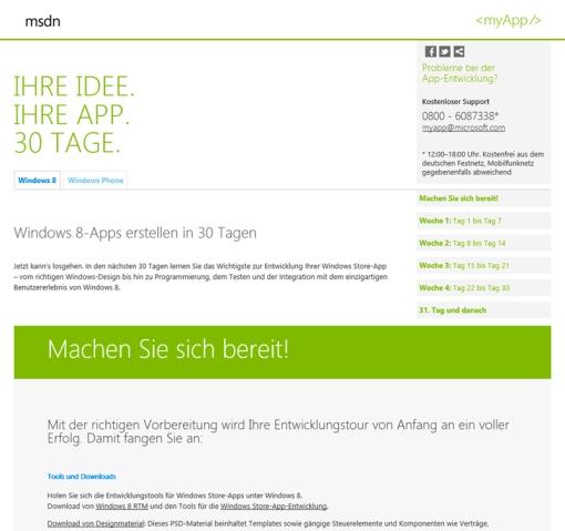 Das neue myApp Webportal